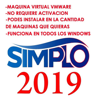 Simplo 2019 Func Todos Los Windows Instalable Multiples Pc