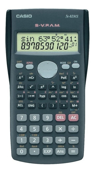 Calculadora Científica Casio Fx-82ms.gtía. Oficial, Obelisco