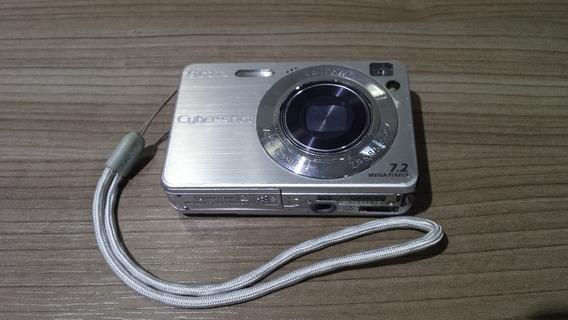 Baixei !!! Camera Sony Cyber Shot Dsc-w120 Com Defeito