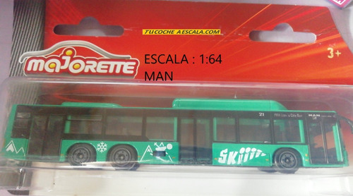 Bus Man  A Escala De Coleccion Marca Majorette