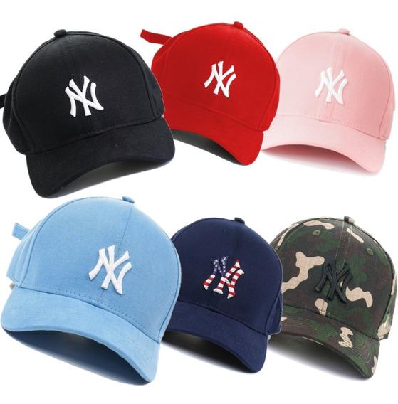 Boné Trucker Aba Curva Boné Aba Torta New York Yankees Lindo