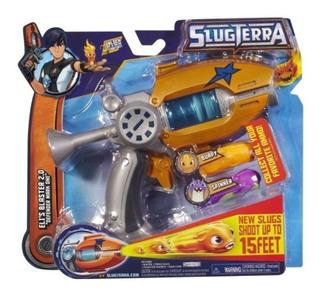 Bajoterra Slugterra Pistola Lanzadora De Babosas Naranja
