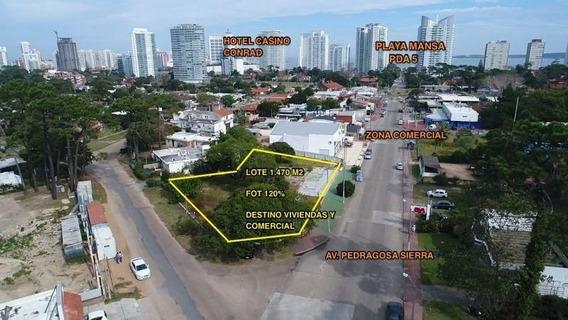 Vende Lote Para Edificio Punta Del Este