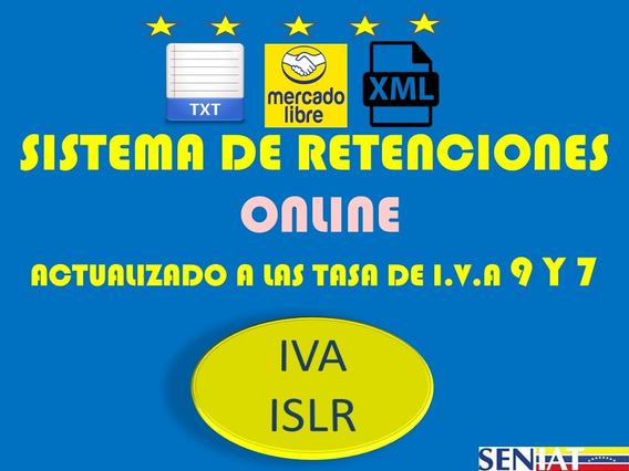 Sistema De Retenciones De Iva E Islr Online