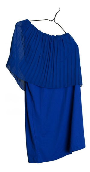 Vestido De Cocktail Azul