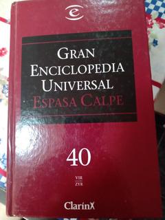 Enciclopedia Universal Espada Calpe