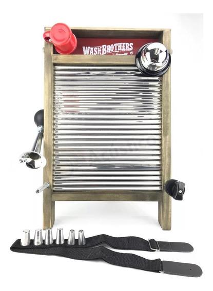 Washboard Torelli Em Aço Inox Grande Twb39 - Torelli