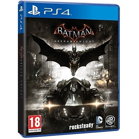 Jogo Batman Arkham Knight Ps4 Mídia Física Novo Dublado Br