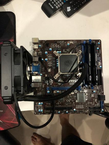 I7 4770k + Msi B85m-e45 + 16gb Hyperx 1600mhz + Seidon 120v