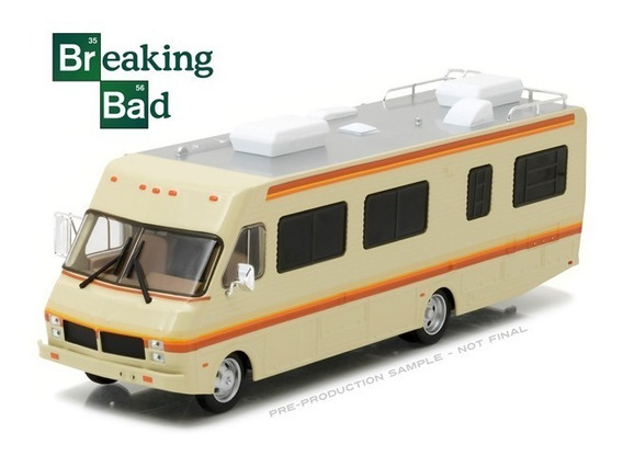 Greenlight 1:43 Breaking Bad 1986 Fleetwood Bounder Rv
