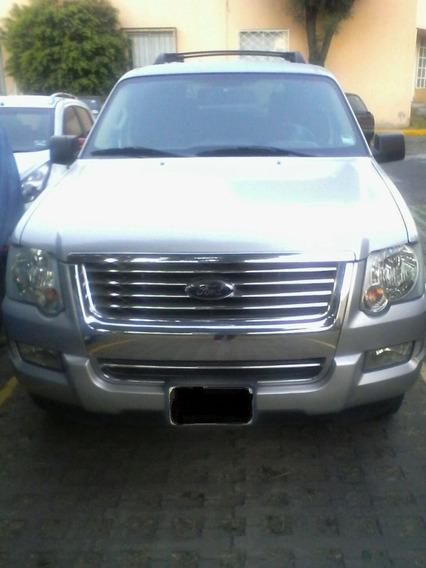 Ford Explorer 2010 6 Cil,transm Aut, Color Plata 117 Mil Kms