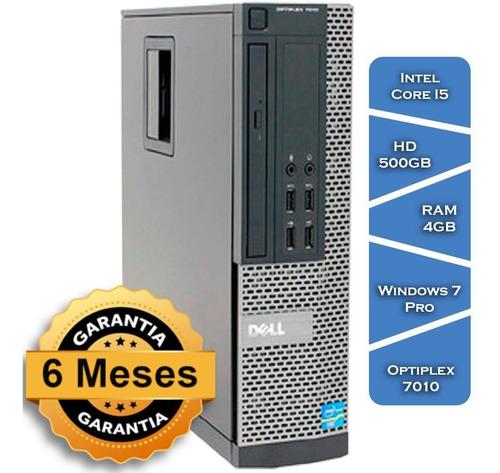 Imagem 1 de 7 de Pc Dell Optiplex 7010 Core I5 3570g° Hd500 4gb Ram Win Pro