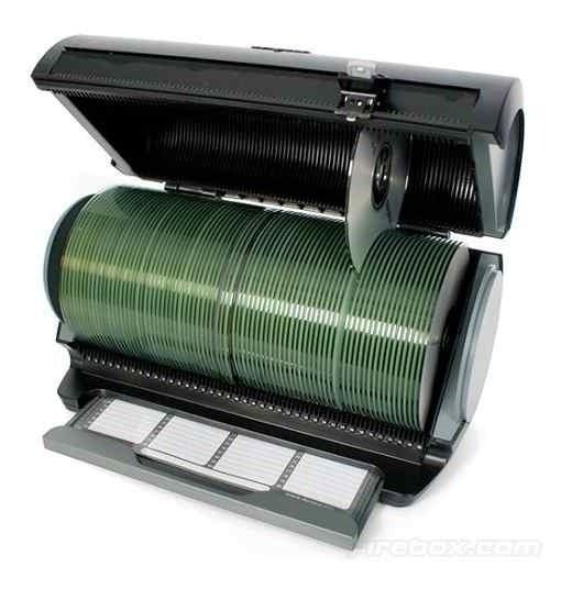 Porta Cd/dvd P/80un Selector 80s Prata 341004 Discgear