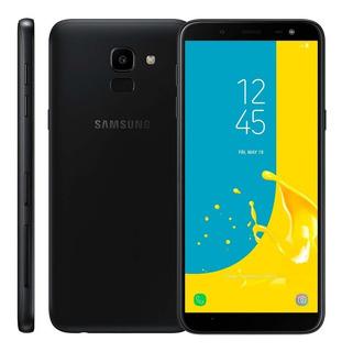 Smartphone Samsung Galaxy J6 Preto 32gb 2gb Ram Usado
