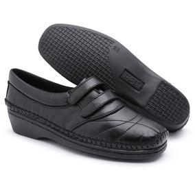 231249f880 Anabela Preto Onça Mulher Sapatos Sapato Boneca Feminino - Sapatos ...