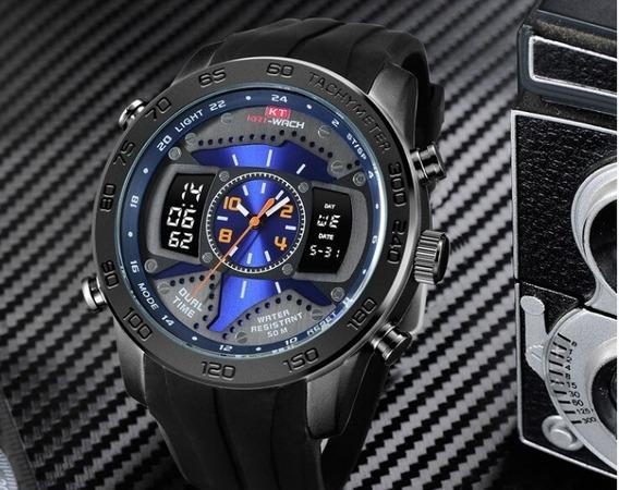 Relógio Kat-wach Anadigi Casual