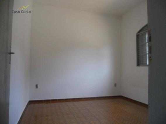 Casa Com 2 Dormitórios Para Alugar, 100 M² Por R$ 850,00/mês - Jardim Itamaraty - Mogi Guaçu/sp - Ca0600