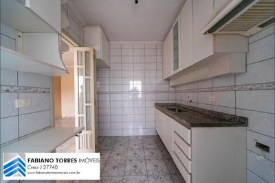 Apartamento Para Locação Em São Bernardo Do Campo, Tiradentes, 2 Dormitórios, 1 Banheiro, 1 Vaga - 1919