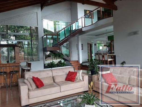 Chácara Para Venda Em Itatiba, Condomínio Parque São Gabriel, 3 Suítes, 4 Vagas - Ch0022_2-1174628