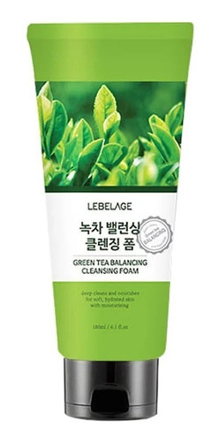 Imagen 1 de 10 de Bidameun Espuma Facial De Té Verde.
