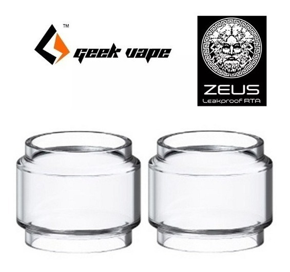2x Vidros Para Geekvape Zeus X - 4.5ml