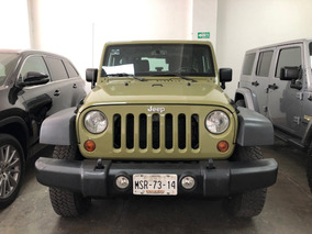 Jeep Wrangler 3.6 Rubicon 4x4 At 2013 Verde