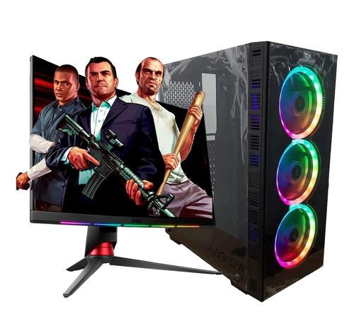 Imagen 1 de 10 de Pc Armada Gamer Intel Core I5 10400 16gb Ram Radeon Rx 550