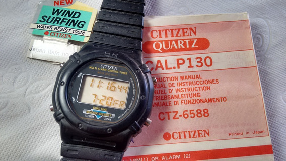 Citizen P130 Gshock Com Manual - Liquidação De Janeiro