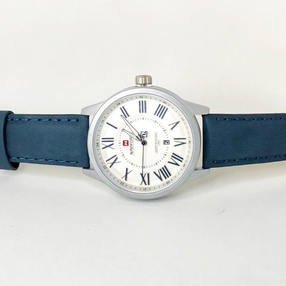 Relógio Masculino Numerais Romano Naviforce 9126