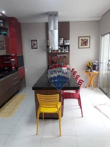 Casa À Venda C/ 4 Quartos Sendo 2 Suítes  Condomínio Solar Das Torres - Santa Cruz Ii! - Ca1096