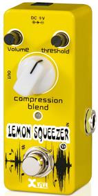 Pedal Xvive V9 Compressor Lemon Squeezer