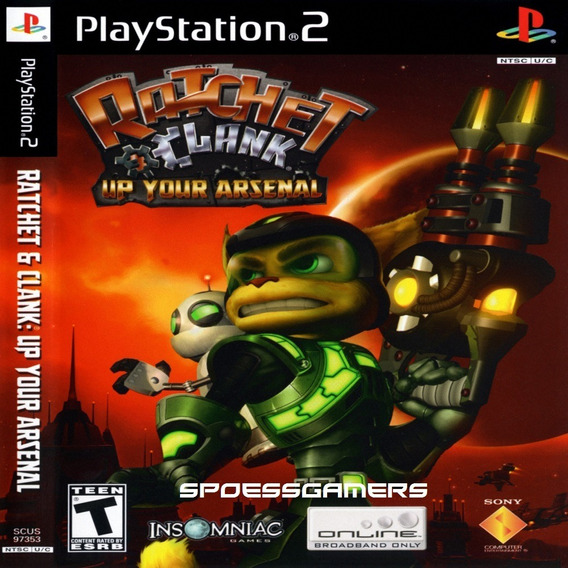 Ratchet & Clank 3 Up Your Arsenal Ps2 Desbloqueado Patch