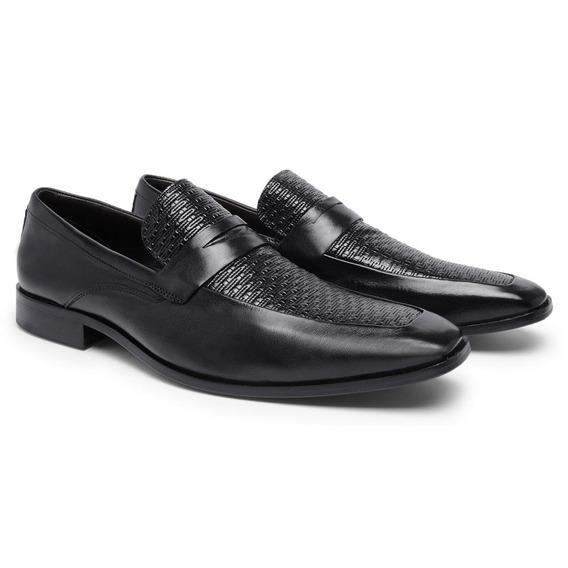 Sapato Social Masculino Conforto Couro T9015a - Frete Grátis