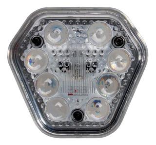 Sinalizador Lanterna Lateral Duas Fases 8 Leds Branco 12/24v