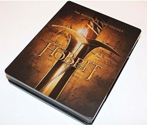 The Hobbit Trilogia Steelbook Pelicula Blu-ray