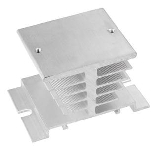 Disipador De Aluminio Base Reles De Estado Solido Foltek