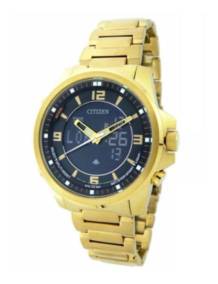 Relógio Citizen Promaster Anadigi Masculino Tz10155u Jn5002-