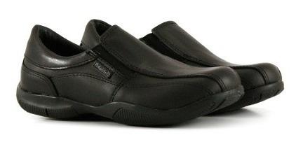 Zapatos Colegiales Escolares De Cuero Negro Del 34 Al 40