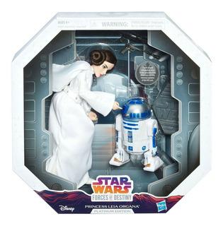 Hasbro Forces Of Destiny Princess Leia Organa Edición Plati