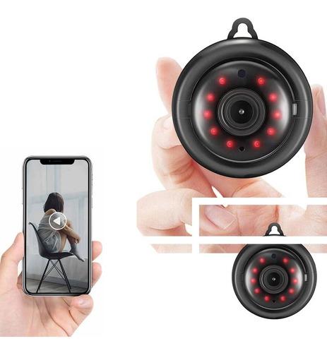 2x Mini Micro Câmera Ip Wifi 720p Segurança Espiã Wifi Hd