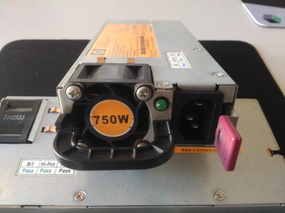 Fonte 750w Hp Hotplug Servidor Proliant Ml350 G6