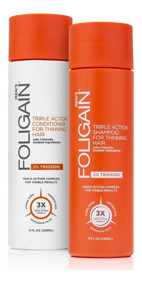 Kit C/ Shampoo + Condicionador Foligain Original