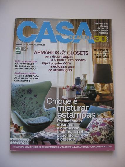 Revista Casa Claudia - Nº 551 - Chique É Misturar Estampas