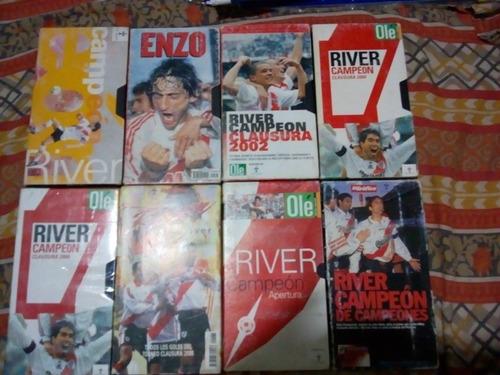 Vhs De River Lote Por 8