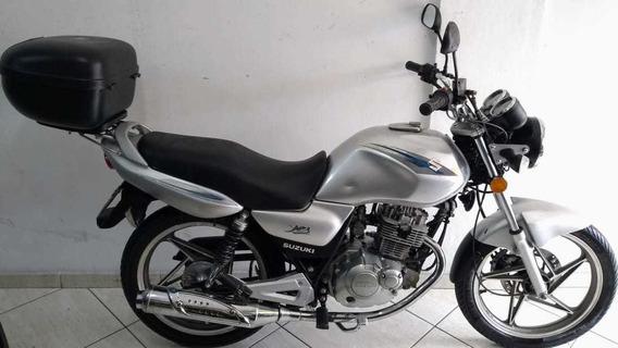 Suzuki En 125 Yes 2009 Prata