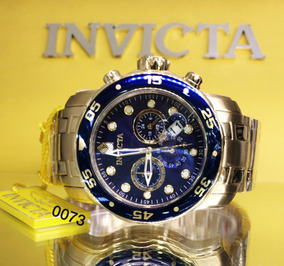 Relógio Invicta Pro Diver Aço Cronografo 0073