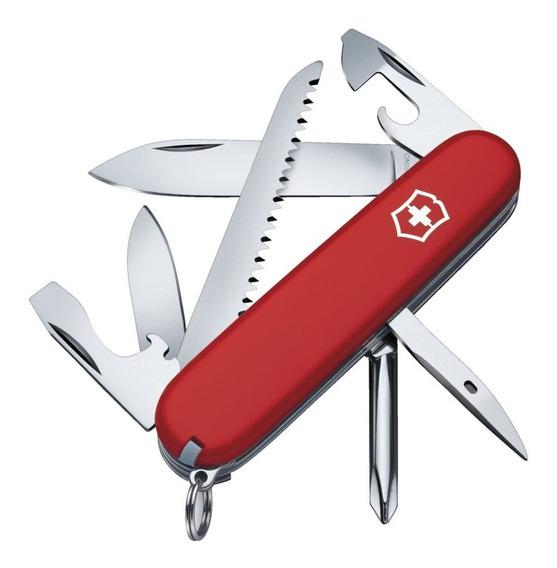 Canivete Suiço Original Victorinox Hiker 13 Funções Vermelho