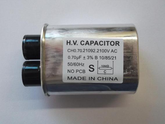 Capacitor Alta Tensão Forno Microondas 0,70mfx2100vac-novo!!