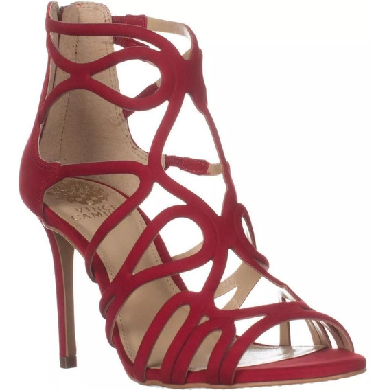 Sandalias Vince Camuto Vc-lorrana Red Rose Mujer No. Nl5452