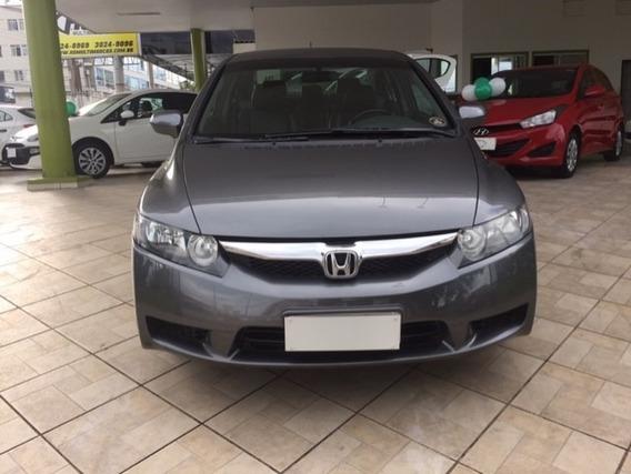 Honda Civic Lsx 1.8 Aut. Flex Completo Cinza 2010